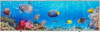 Экран для ванны Comfort Alumin Морское дно 3D 170x50 -