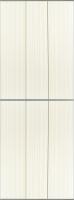 Экран-дверка Comfort Alumin Джинс темно-бежевый 73x200 -