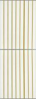 Экран-дверка Comfort Alumin Золотая (10) 73x200 -