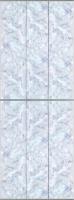 Экран-дверка Comfort Alumin Плитка голубая 73x200 -