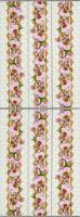 Экран-дверка Comfort Alumin Сеньора Орхидея 73x200 -