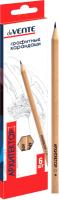 Набор простых карандашей deVente Архитектор / 5030701 (6цв) -