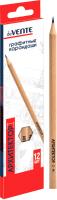 Набор простых карандашей deVente Архитектор / 5030703 (12цв) -