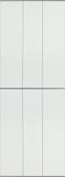 Экран-дверка Comfort Alumin Белый матовый 83x200 -