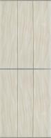 Экран-дверка Comfort Alumin Волна бежевая 83x200 -