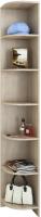 Угловое окончание для шкафа MFMaster Ольга (УТ-2000) / МСТ-ПДО-УТ-ДС-20 (дуб сонома) -
