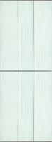 Экран-дверка Comfort Alumin Волна зеленая 83x200 -