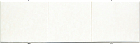 Экран для ванны Comfort Alumin Белый глянцевый 120 -