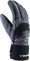Перчатки лыжные VikinG Piemont / 110/21/4228-09 (р.8, черный) -