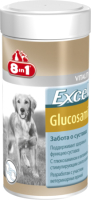 Кормовая добавка для животных 8in1 Excel Glucosamine / 121565/660889 (55таб) -