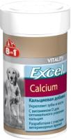 Кормовая добавка для животных 8in1 Exsel Calcium / 109433/660474 (470таб) -