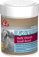 Кормовая добавка для животных 8in1 Exsel Multi VitaminSmallBreed / 109372/660471 (70таб) -