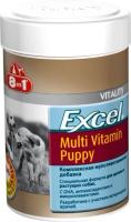 Кормовая добавка для животных 8in1 Excel Multi Vit-Puppy / 108634/660433 (100таб) -