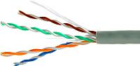 Кабель SkyNet Standart CSS-UTP-4-CU (305м, серый) -