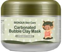 Маска для лица кремовая Bioaqua Очищающая пузырьковая (100г) -