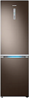 Холодильник с морозильником Samsung RB41R7847DXWT -