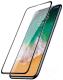 Защитное стекло для телефона Case 3D Rubber для iPhone 11 / XR (черный) -
