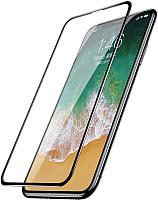 Защитное стекло для телефона Case 3D Rubber для iPhone X / XS / 11Pro (черный) -