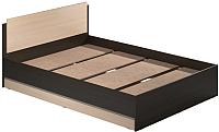 Полуторная кровать Modern Аманда А12 (венге/дуб млечный) -
