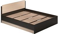 Двуспальная кровать Modern Аманда А16 (венге/дуб млечный) -
