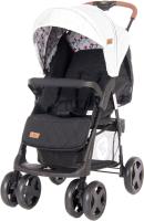 Детская прогулочная коляска Lorelli Ines Grey Black Cros / 10021532087 -