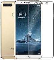 Защитное стекло для телефона Case Full Screen для Y5 Prime 2018 / Honor 7A (черный) -