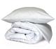 Комплект постельного белья Файбертек КПБ.14.СБ (белый сатин) -