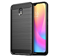Чехол-накладка Case Brushed Line для Redmi 8A (черный) -