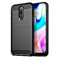 Чехол-накладка Case Brushed Line для Redmi 8 (черный) -
