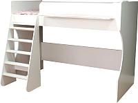 Кровать-чердак Можга Капризун 1 / Р432 (белый) -