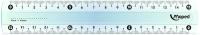 Линейка Maped Кристалл / 146507 (15см) -