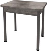 Обеденный стол Millwood Алтай-04 (сосна пасадена/металл черный) -