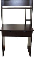 Письменный стол Компас-мебель КС-003-01 (венге темный) -