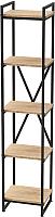 Стеллаж Millwood Neo Loft СН-2 Л (дуб золотой Craft/металл черный) -