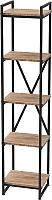 Стеллаж Millwood Neo Loft СН-2 Л (дуб табачный Craft/металл черный) -