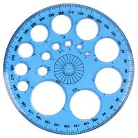 Транспортир Darvish DV-12040 (360 градусов) -