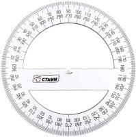Транспортир Стамм ТР41 (360 градусов, 10см) -