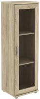 Шкаф-пенал с витриной Уют Сервис Гарун-К 301.02 (дуб сонома) -