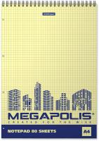 Блокнот Erich Krause Megapolis. Yellow Concept / 49807 -