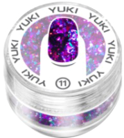 Хлопья юки для ногтей Giorgio Capachini Декоративная Юки №11 -