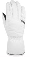 Перчатки лыжные Reusch Marisa / 4831150 103 (р-р 6, White/Silver) -