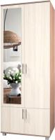 Шкаф Modern Ева Е22 (ясень шимо темный/шимо светлый) -