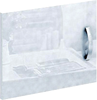 Дверь MFMaster Либерти / МСТ-СТЛ-ДС-БТ-ГЛ (белый) -