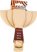 Набор шпателей Bauwelt 01220-770003 (3шт) -
