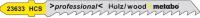 Набор пильных полотен Metabo T144D (623921000) -