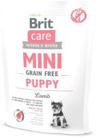 Корм для собак Brit Care Mini GF Puppy Lamb / 520145 (400г) -