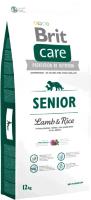 Корм для собак Brit Care Senior All Breeds Lamb & Rice / 132715 (12кг) -
