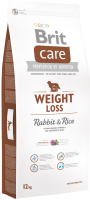 Корм для собак Brit Care Weight Loss Rabbit & Rice / 132736 (12кг) -