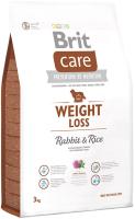 Корм для собак Brit Care Weight Loss Rabbit & Rice / 132737 (3кг) -