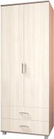 Шкаф Modern Ева Е23 (ясень шимо темный/шимо светлый) -